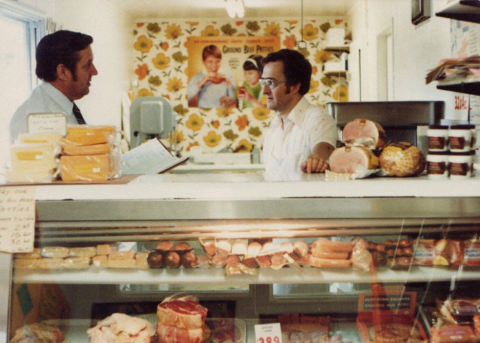 Stephen's Butcher Shop 1970s
